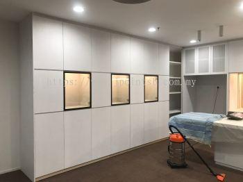Built-in Kitchen Cabinet @ Arcoris, Mont Kiara
