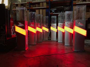 Custom-Made LED Pedestal @ KL