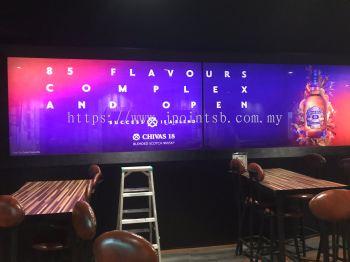 Advertising Cabinet @ Bliss Lounge, KL