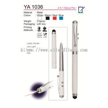 YA 1036 4 in 1 Stylus Pen