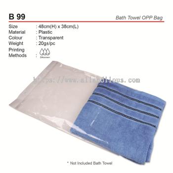 B 99 BathTowel OPP Bag
