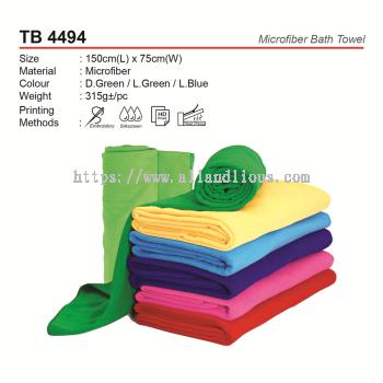 TB 4494 Mircofiber Bath Towel