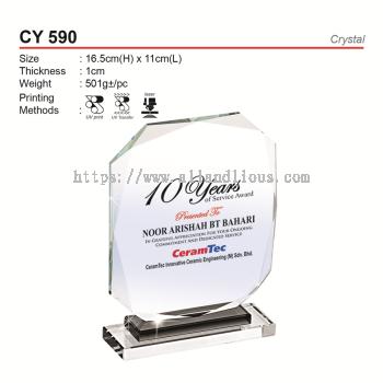 CY 590 Crystal