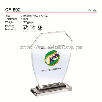 CY 592 Crystal