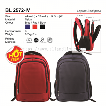 BL 2572-IV Laptop Backpack