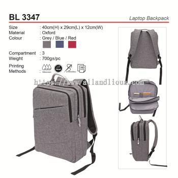 BL 3347 Laptop Backpack