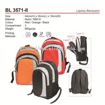 BL 3571-II Laptop Backpack