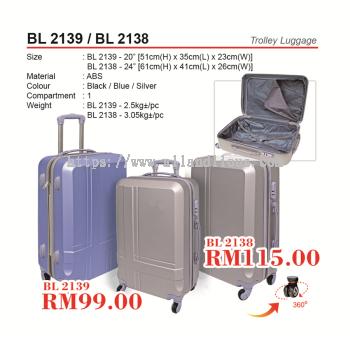 BL 2138 & BL 2139 Trolley Luggage