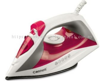 Cornell Steam Iron CSI-S1601S with Non-Stick Soleplate & Safety Cut-Off
