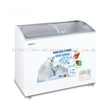 Hesstar 320L Display Freezer with Fan Motor HCF-DF32L
