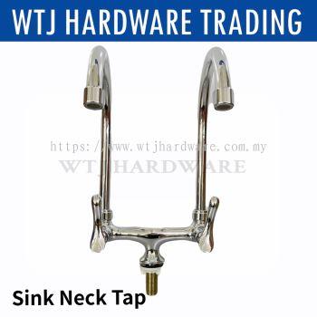 FALLA-5127 Double Pillar Swan Neck Tap