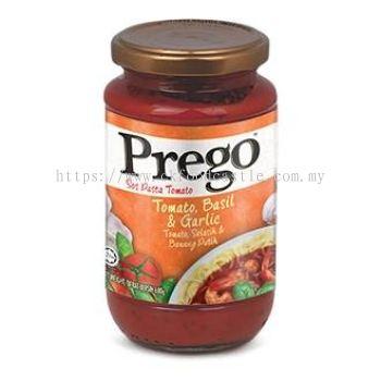 Prego Tomato, Basil & Garlic Pasta Sauce 680G