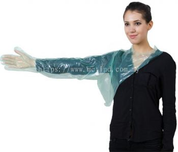 PE LONG SLEEVE GLOVE WITH SHOULDER