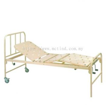 MANUAL CRANK BED STEEL DOUBLE FOWLER BED