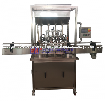 AUTOMATIC OVERFLOW FILLING MACHINE WITH VACUUM