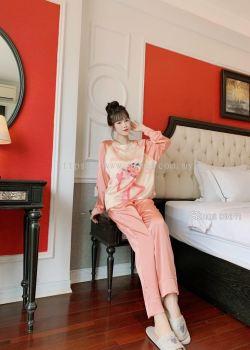 Women Pyjamas Ice Silk