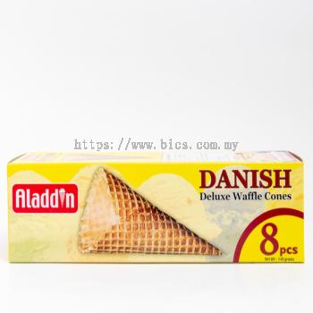Danish Deluxe Waffle Cones