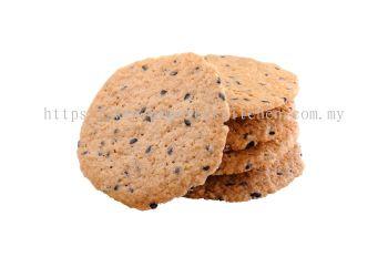 Black Sesame Crispy Thin Biscuit