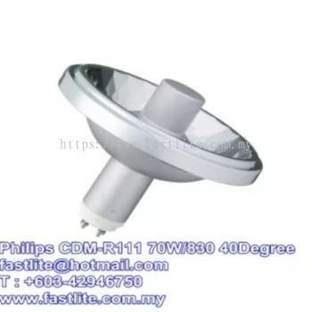 Philips CDM-R111 70W/830 40Degree GX8.5 Metal Halide