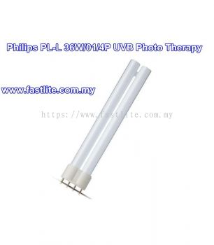Philips PL-L 36W/01/4P UV-B 2G11 Photo Therapy tube for treatment of Skin Disease