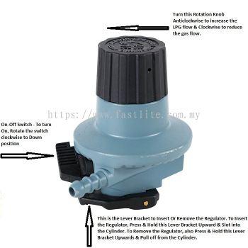 SRG High Pressure Regulator Type 555 (Made in Europe)