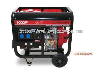 'KOOP' Diesel Welding Generator KDF8500WE