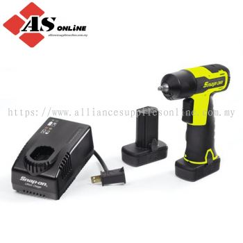 "SNAP-ON 14.4 V 1/4"" Drive MicroLithium Cordless Impact Wrench Kit (Hi-Viz) / Model: CT725AHVK2"