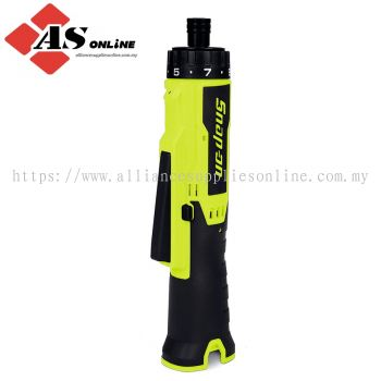 SNAP-ON 14.4 V MicroLithium Cordless In-Line Screwdriver (Tool Only) (Hi-Viz) / Model: CTSS761HVDB