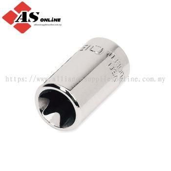 "SNAP-ON 1/4"" Drive TORX E10 Shallow Socket / Model: TLE100A"