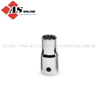 "SNAP-ON 1/4"" Drive SAE #8, 1/4"" Hex, Shallow Spline Socket / Model: TES8B"