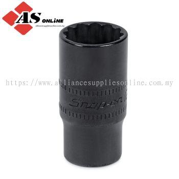 "SNAP-ON 1/4"" Drive 12-Point Metric 12 and 14 mm Semi-Deep Flip Socket / Model: S61214"