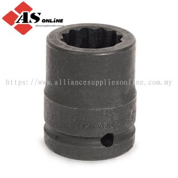 """SNAP-ON 1"""" Drive 12-Point SAE Flank Drive 2-3/8"""" Shallow Impact Socket / Model: IMD763"""