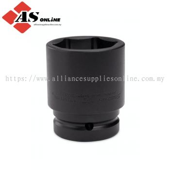 """SNAP-ON 1"""" Drive 6-Point Metric 55 mm Flank Drive Shallow Impact Socket / Model: IMM553"""