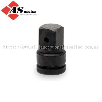 "SNAP-ON 1"" Drive 3-1/2"" Square Drive Pin Hole Impact Adaptor, 1"" Internal Drive x 1-1/2"" External Drive / Model; IM35"