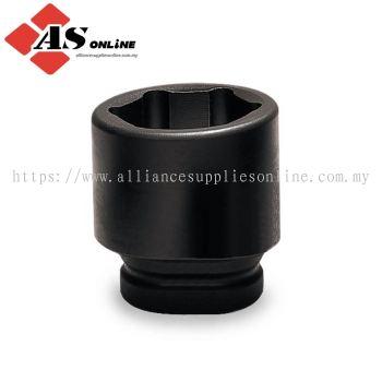 "SNAP-ON 9 pc 1-1/2"" Drive 6-Point SAE Flank Drive Shallow Impact Socket Set (5-8"") / Model: 609IM"