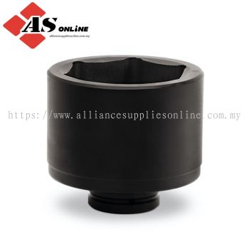 """SNAP-ON 2-1/2"""" Drive 6-Point Metric 80 mm Flank Drive Shallow Impact Socket / Model: IMM809"""