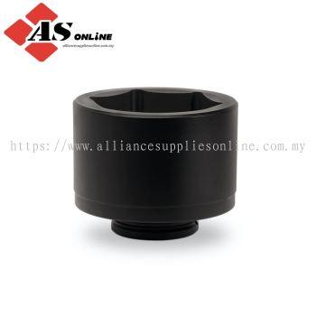 "SNAP-ON 10 pc 2-1/2"" Drive 6-Point Metric Flank Drive Shallow Impact Socket Set (105-150 mm) / Model: 710IMM"