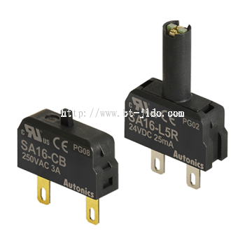 SA16-C/L Series Contact Blocks and LED Blocks for 16 mm Control Switches