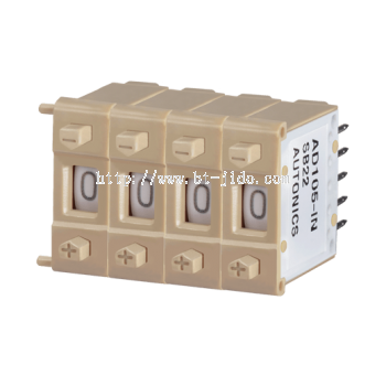 AD105 Series Compact Thumbwheel Switches