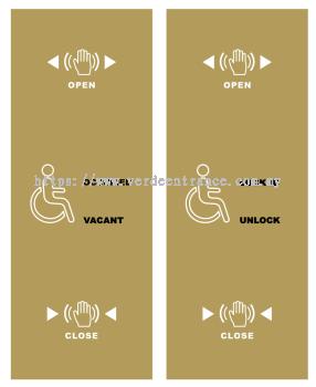 CNB-238M Handicap Toilet Button