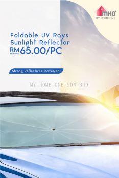 Foldable UV Rays Sunlight Reflector