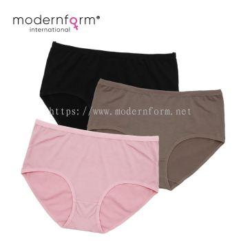 Modernform Set of 3 High Waist Stretch Panties Plus Size P0304