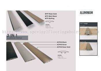 2 in 1 Aluminum Profile