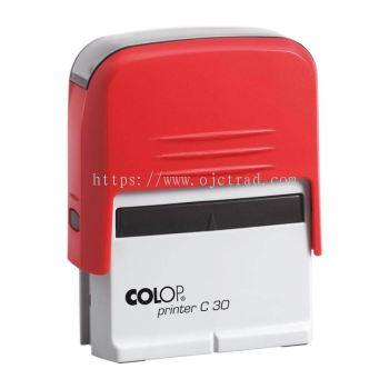 COLOP Printer C-30 Rubber Stamp