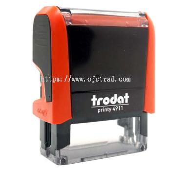 Trodat Printy 4911 Self Inking Rubber Stamp