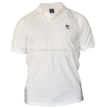 Poseidon Polo shirt Fish White