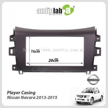 Toyota Universal Double Din Car DVD Player Casing for Nissan Navara 2013-2015 - AL-PC-NS04