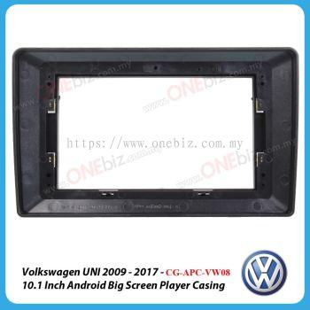 Volkswagen UNI 2009 - 2017 - 10.1 Inch Android Big Screen Player Casing - CG-APC-VW08