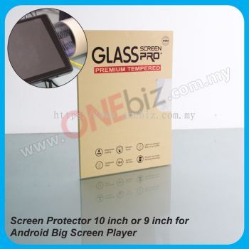 Screen Protector for 9 Inch or 10.1 Inch Android Player - AL-PT-09 / AL-PT-10