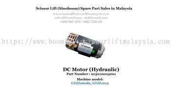 Scissor Lift Spare Part- DC Motor Part No.: 203010003001